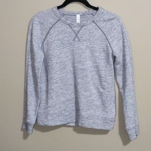 Lululemon gray twisted sweatshirt size 2